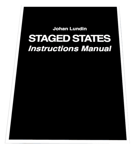 Johan Lundin - Staged States Instructions Manual (2015)